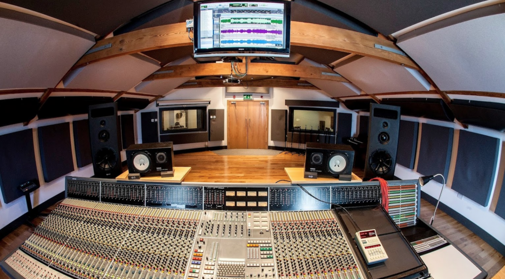 recording studio in manchester