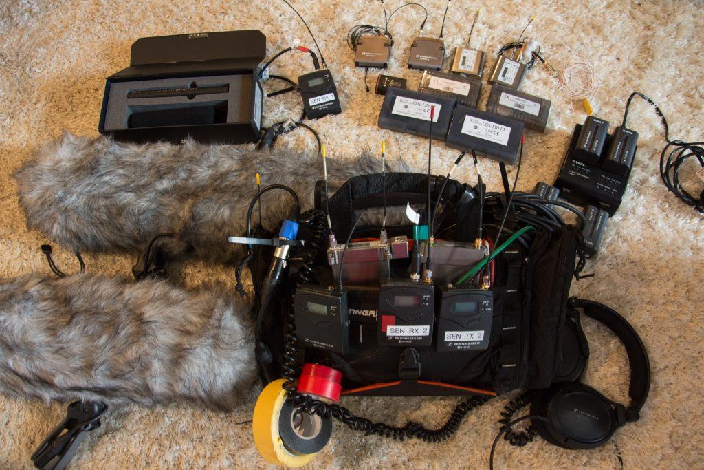 location sound recordist for short film