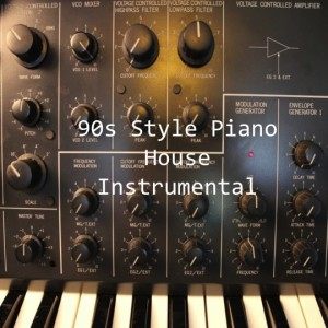 90s Style Piano House Instrumental